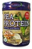 Fusion Diet Systems - Natural Pea Protein With Rice and Hemp Protein ...