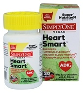 Super Nutrition - Simply One Vegan Heart Smart ADK2 Wild Berry with D-Ribose - 30 Chewable Tablets
