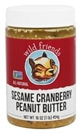 Wild Friends - All Natural Peanut Butter Sesame Cranberry - 16 oz.