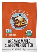 Wild Friends - Organic Sunflower Butter Maple - 1.15 oz.