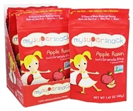 My Super Foods - All Natural Granola Bites Apple Raisins - 1.41 oz.