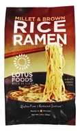 Lotus Foods - Rice Ramen with Miso Soup Millet & Brown - 2.8 oz.