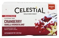 Celestial Seasonings - Holiday Herbal Tea Cranberry Vanilla Wonderland - 20 Tea Bags