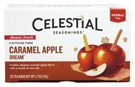 Celestial Seasonings - Holiday Herbal Tea Caramel Apple Dream - 20 Tea Bags