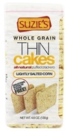 Suzie's - Whole Grain Thin Cakes Corn Lightly Salted - 4.6 oz.