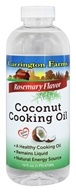 Carrington Farms - Coconut Cooking Oil Rosemary - 16 oz.