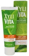 Organix South - XyliVita Xylitol Multicare Whitening Toothpaste Key Lime Cool Mint Freshness - 3.4 oz.