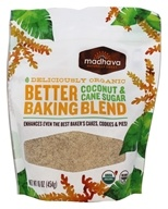 Madhava - Organic Coconut & Cane Sugar Better Baking Blend - 16 oz.