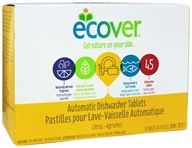 Ecover - Automatic Dishwasher Tablets 45 Loads Citrus - 31.7 oz.