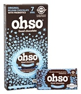 Solgar - Ohso Probiotic Chocolate Bar Classic Chocolate - 7 Bars