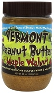 Vermont Peanut Butter - Peanut Butter Maple Walnut - 16 oz.