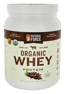 Natural Force - Organic Whey Protein Cacao Bean - 14.8 oz.