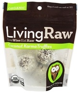Living Raw - Organic Truffles Coconut Karma - 1.64 oz.