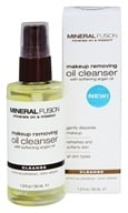 Mineral Fusion - Makeup Removing Oil Cleanser - 1.9 oz.