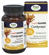 Pure Essence Labs - HealthGuard Cordyceps - 30 Tablets