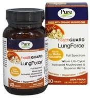 Pure Essence Labs - HealthGuard LungForce - 30 Tablets