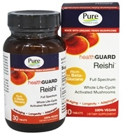 Pure Essence Labs - HealthGuard Reishi - 30 Tablets
