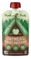 Munk Pack - Gluten-Free Oatmeal Fruit Squeeze Apple Quinoa Cinnamon - 4.2 oz.