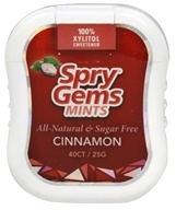 Xlear - Spry Gems Mints Cinnamon - 40 Count