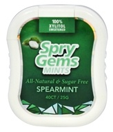 Xlear - Spry Gems Mints Spearmint - 40 Count