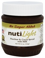 NutiLight - Gluten Free Spread Hazelnut & Coconut with Milk - 11 oz.