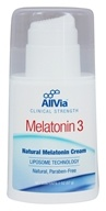 AllVia - Melatonin 3 Cream - 2 oz.