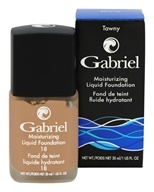 Gabriel Cosmetics Inc. - Moisturizing Liquid Foundation Tawny 18 SPF - 1 oz.