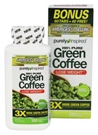 Purely Inspired - 100% Pure Green Coffee Bonus Size - 100 Tablet(s)