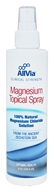AllVia - Magnesium Topical Spray - 8 oz.
