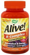 Nature's Way - Alive! B-Complex - 60 Gummies LUCKY DEAL