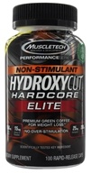 Muscletech Products - Hydroxycut Hardcore Elite Performance Series Non-Stimulant - 100 Capsules