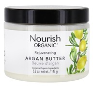 Nourish - Organic Rejuvenating Argan Butter - 5.2 oz.