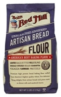 Bob's Red Mill - Unbleached Enriched Artisan Bread Flour - 5 lbs.
