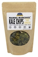Manna Organics - Manna Munchies Kale Chips Say Cheese - 2 oz.
