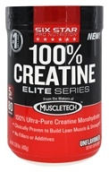 Six Star Pro Nutrition - Elite Series 100% Creatine Unflavored - 0.88 lbs.