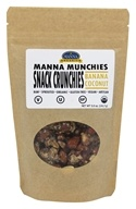Manna Organics - Manna Munchies Snack Crunchies Banana Coconut - 5 oz.
