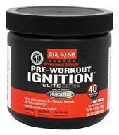 Six Star Pro Nutrition - Elite Series Pre-Workout Ignition Professional Strength Fruit Punch - 0.53 lbs.