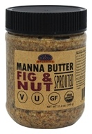 Produits organiques de manne - Manna Butter Sprouted Fig & Nut - 12 once.