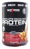 Six Star Pro Nutrition - Elite Series Complete Recovery Protein Decadent Chocolate - 2 lbs.