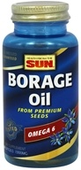 Health From The Sun - Borage Oil 1300 mg. - 30 Softgels