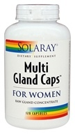Solaray - Multi Gland Caps For Women - 120 Capsules