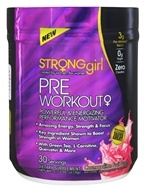 StrongGirl - Pre Workout Power & Energizing Performance Motivator Cosmopolitan Fruit Punch - 7.73 oz.