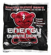 Energy Gummi Bears - Berry Flavor - 1 oz.