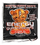 Energy Gummi Bears - Citrus Flavor - 1 oz.