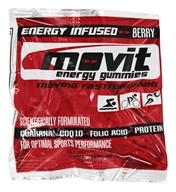 Movit Energy Gummies - Energy Infused Berry - 1 oz.