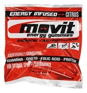 Movit Energy Gummies - Energy Infused Citrus - 1 oz.