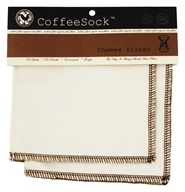 CoffeeSock - Chemex Style Filter 6-10 Cup - 2 Count