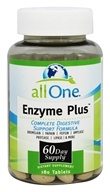 All One - Enzyme Plus - 180 Tablets