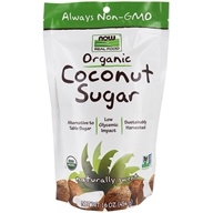 NOW Foods - Now Real Food Organic Coconut Sugar - 16 oz.