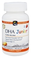 Nordic Naturals Professional - DHA Junior 75 EPA/105 DHA Strawberry Flavor 250 mg. - 180 Softgels